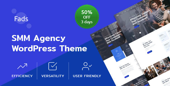 Fads - SMM Agency WordPress Theme