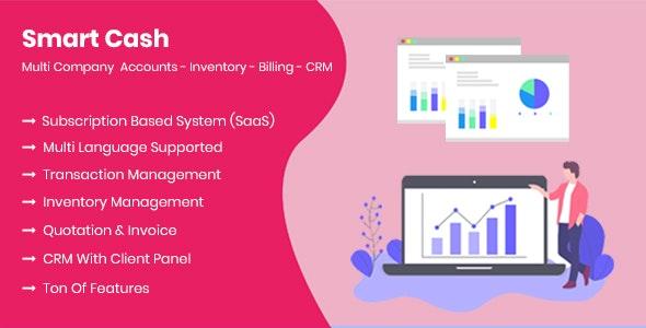 Smart Cash - Multi Company Accounts Billing & Inventory(SaaS) Download