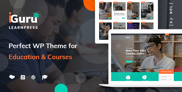 iGuru - Education & Courses WordPress Theme