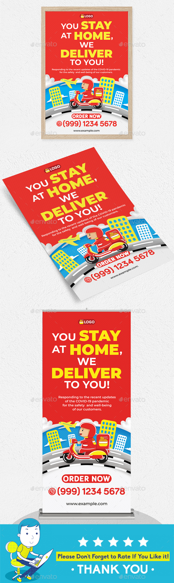Food Delivery Templates