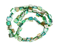 beads from green colored pieces of abalone shells - PhotoDune Item for Sale