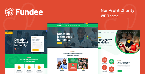 Photo of Fundee – NonProfit Charity WordPress Theme Full Download