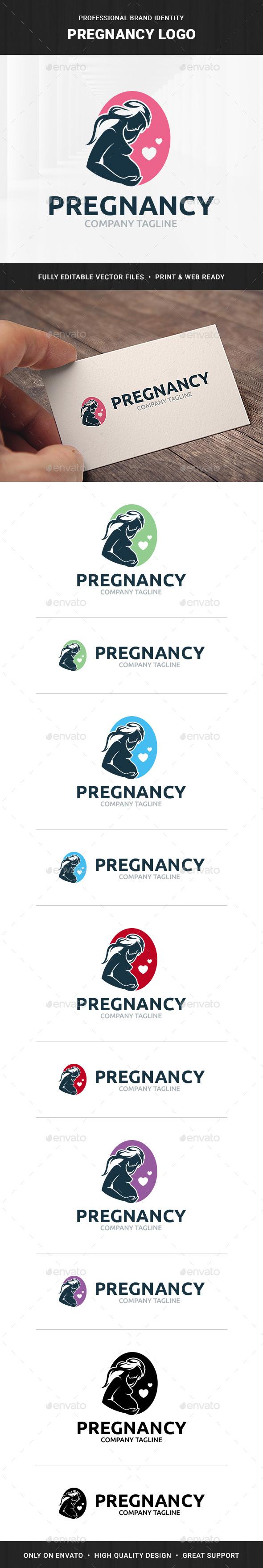 Pregnancy Logo Template