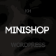 Minishop - Multipurpose, e-Commerce WordPress Theme - ThemeForest Item for Sale