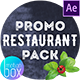 Restaurant Promo Pack - VideoHive Item for Sale