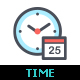 Time & Schedule Line with Color - GraphicRiver Item for Sale