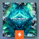 Psychedelic Love – Psytrance Album Cover Template - GraphicRiver Item for Sale