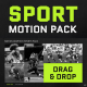Sports Motion Graphics Pack - VideoHive Item for Sale