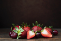 Strawberries and Cherries Still Life - PhotoDune Item for Sale