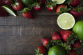 Flat Lay with Fresh Fruit - PhotoDune Item for Sale