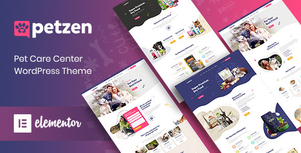 Petzen - Pet Care Center WordPress Theme