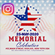 Memorial Day Banners - GraphicRiver Item for Sale