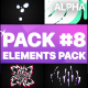 Flash FX Elements Pack 08   Motion Graphics Pack - VideoHive Item for Sale