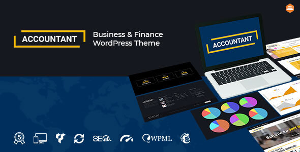 Accountant — Accounting WordPress Template
