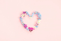 Heart Shape Made of Fresh Flowers - PhotoDune Item for Sale