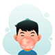 Boy with Bubble Gum - GraphicRiver Item for Sale