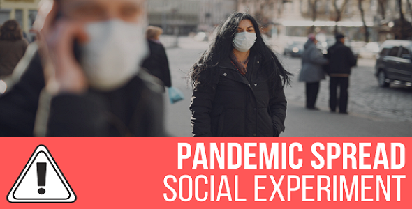 Pandemic Spread Simulation - Social Experiment