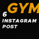 Instagram Post Fitness - GraphicRiver Item for Sale