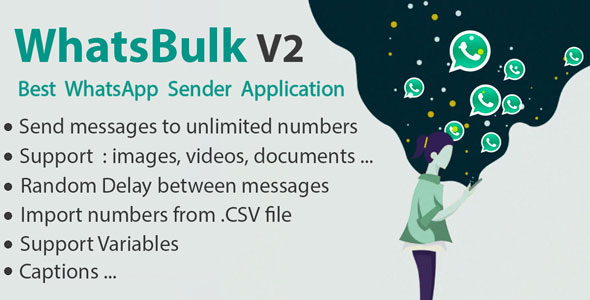 WhatsBulk - Whatsapp Bulk Messages Sender