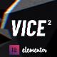 Vice: Underground Music Elementor WordPress Theme - ThemeForest Item for Sale