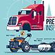 Pre-Trip Inspection Class A Truck - GraphicRiver Item for Sale