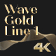 Wave Gold Line 1 - VideoHive Item for Sale