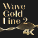 Wave Gold Line 2 - VideoHive Item for Sale