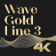 Wave Gold Line 3 - VideoHive Item for Sale