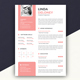 Female Resume - GraphicRiver Item for Sale