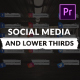 Social Media and Lower Thirds Pack - VideoHive Item for Sale