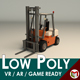 Low Poly Forklift 01 - 3DOcean Item for Sale