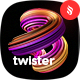 Twister - Liquid 3D Design Decorative Element Backgrounds - GraphicRiver Item for Sale