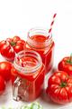Fresh tomato juice and ripe tomatoes - PhotoDune Item for Sale