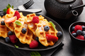Delicious belgian waffles with summer berries - PhotoDune Item for Sale