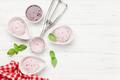 Raspberry ice cream scoops - PhotoDune Item for Sale