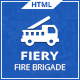 Fiery - Fire Brigade Responsive HTML Template - ThemeForest Item for Sale
