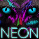 Neon Cats Logo Reveal - VideoHive Item for Sale