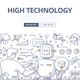 High Technology Doodle Concept - GraphicRiver Item for Sale