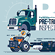Pre-Trip Inspection Class B Truck - GraphicRiver Item for Sale