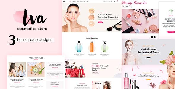 Iva - Cosmetic Shop WooCommerce Theme