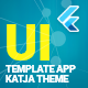 Katja | Flutter UI Theme / Template App | Components, Widgets & Starter App - CodeCanyon Item for Sale
