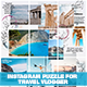 Instagram Puzzle Feed Travel Vlogger - GraphicRiver Item for Sale