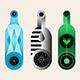 3+3 options of Wine Bottles Vector Design - GraphicRiver Item for Sale