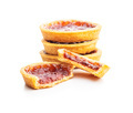 Sweet biscuits with strawberries jam - PhotoDune Item for Sale