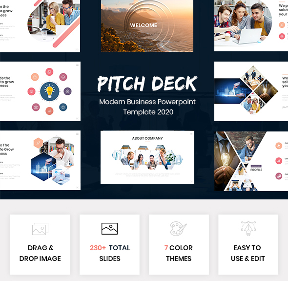 Pitch Deck - Modern Business Powerpoint Template