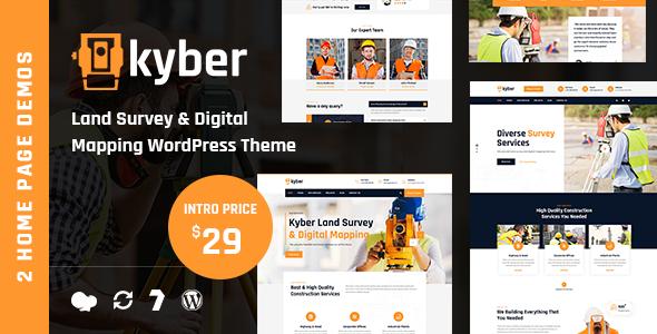 Kyber – Surveyor WordPress Theme Preview