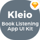 Kleio - Book Listening App UI Kit - ThemeForest Item for Sale
