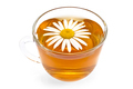 Herbal tea in a glass cup with camomile - PhotoDune Item for Sale