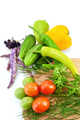 Vegetables with a round board - PhotoDune Item for Sale