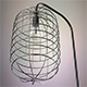 Cage lamp - 3DOcean Item for Sale